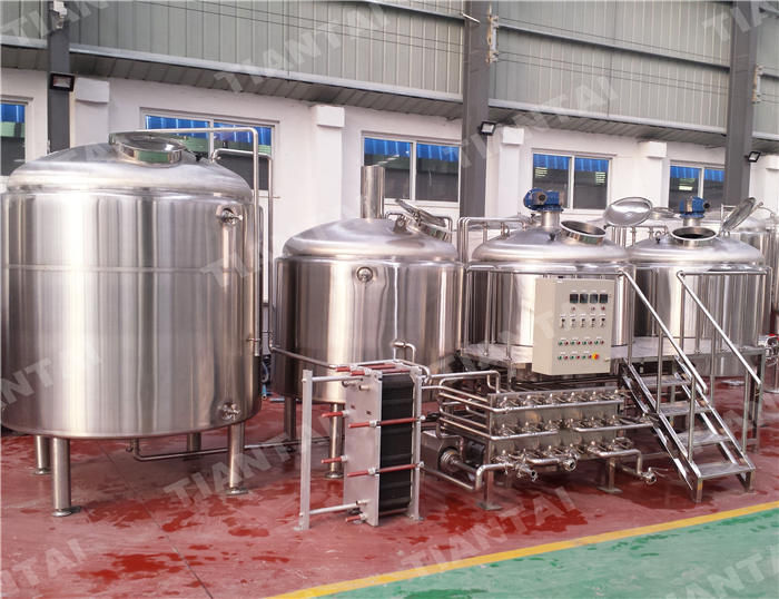 20 HL Three Vessel Brewhouse Equipment