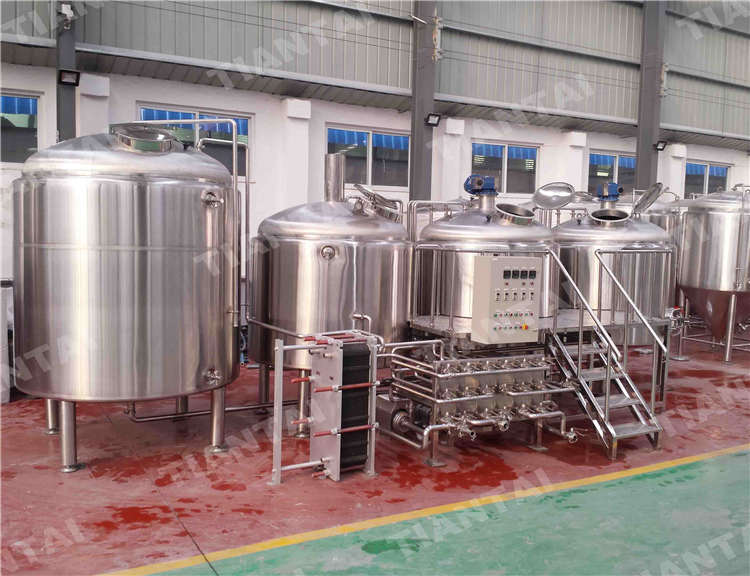 <b>20 HL Stainless steel brewhouse</b>