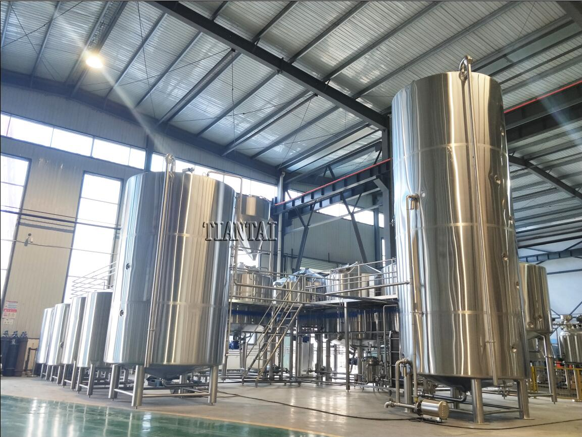 <b>60 HL Large Scale Beer Brewing Equipment</b>