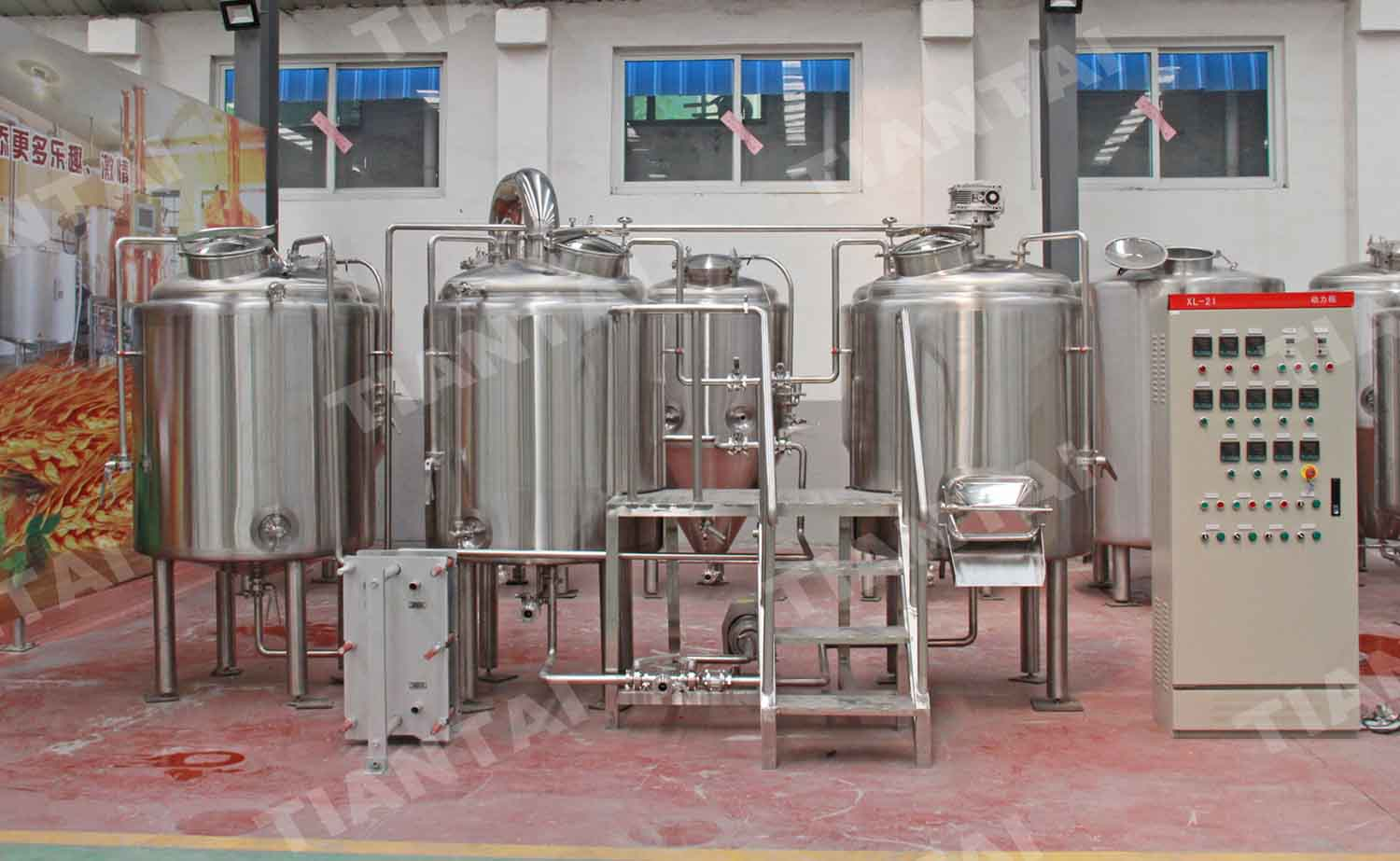 <b>500L Two Vessel Brewhouse Equipment</b>