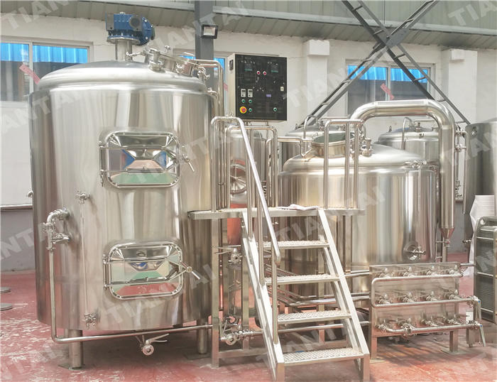 1000L Hotel Beer Brewing System