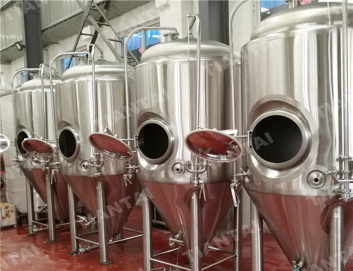 <b>1000L Single wall beer fermenter</b>