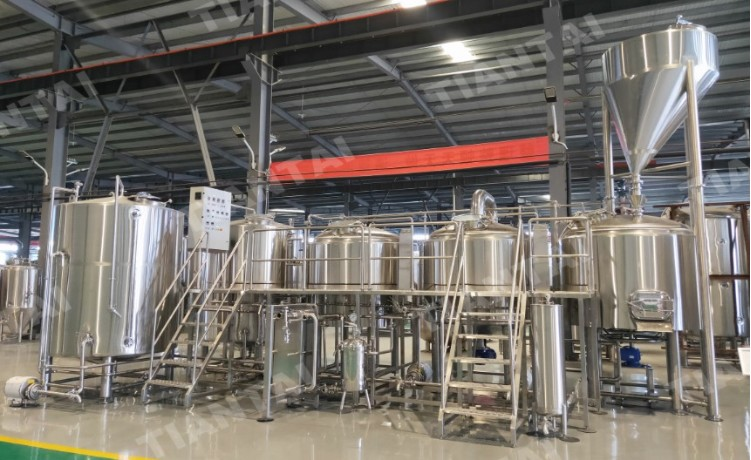 <b>The 20bbl turnkey beer brewing system being shipped to Barbados</b>