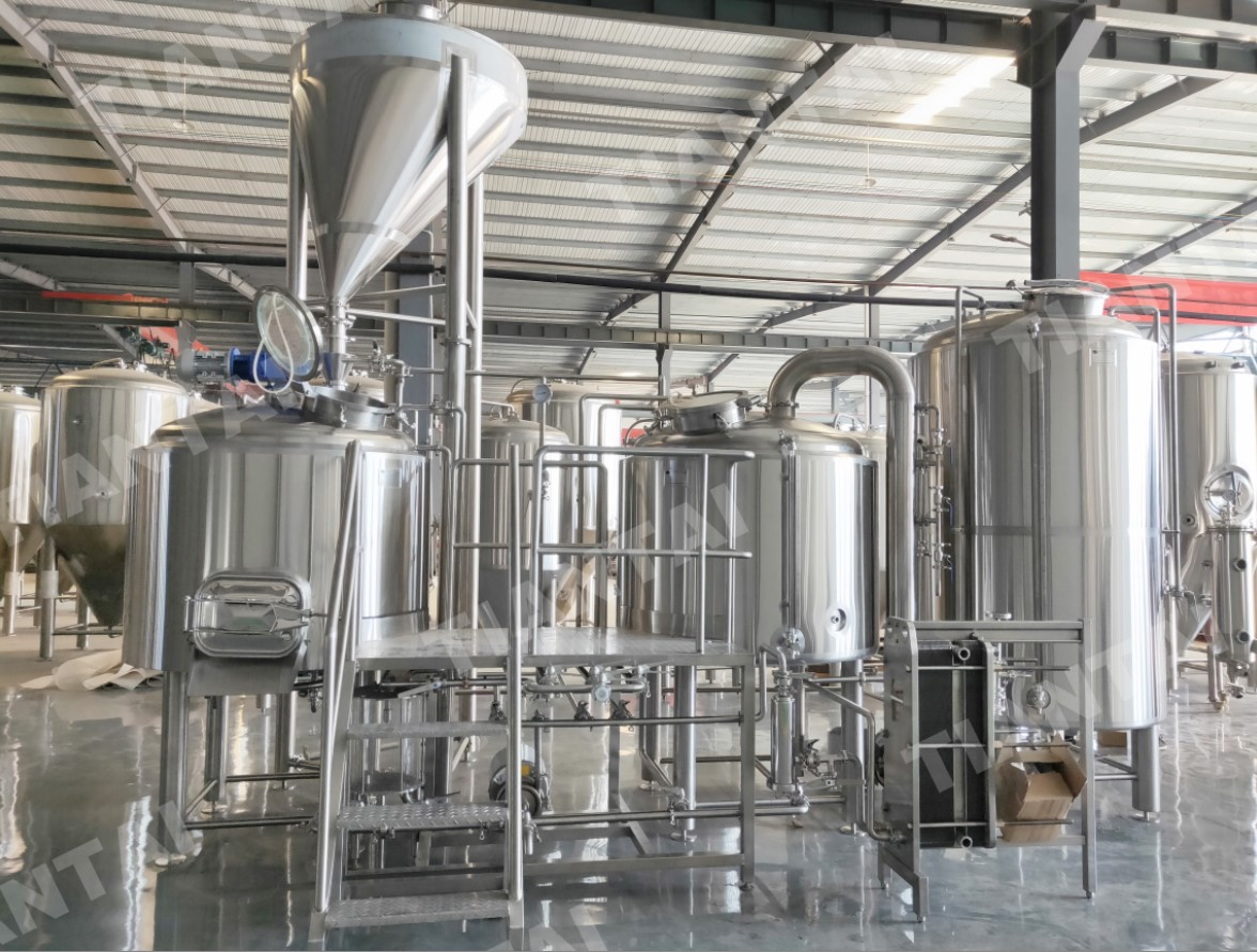 <b>1000L Beer Manufacturing Plant Shipped to US</b>