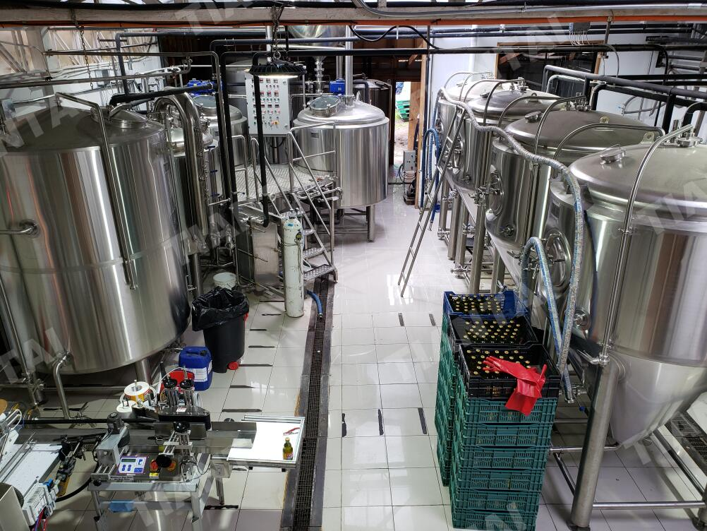 <b>15BBL Craft Beer Brewery Equipment Being Installed in Chile</b>