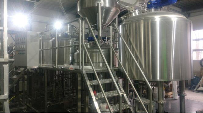 <b>10HL Beer Brewing Equipent Finished Installation in Switzerland</b>