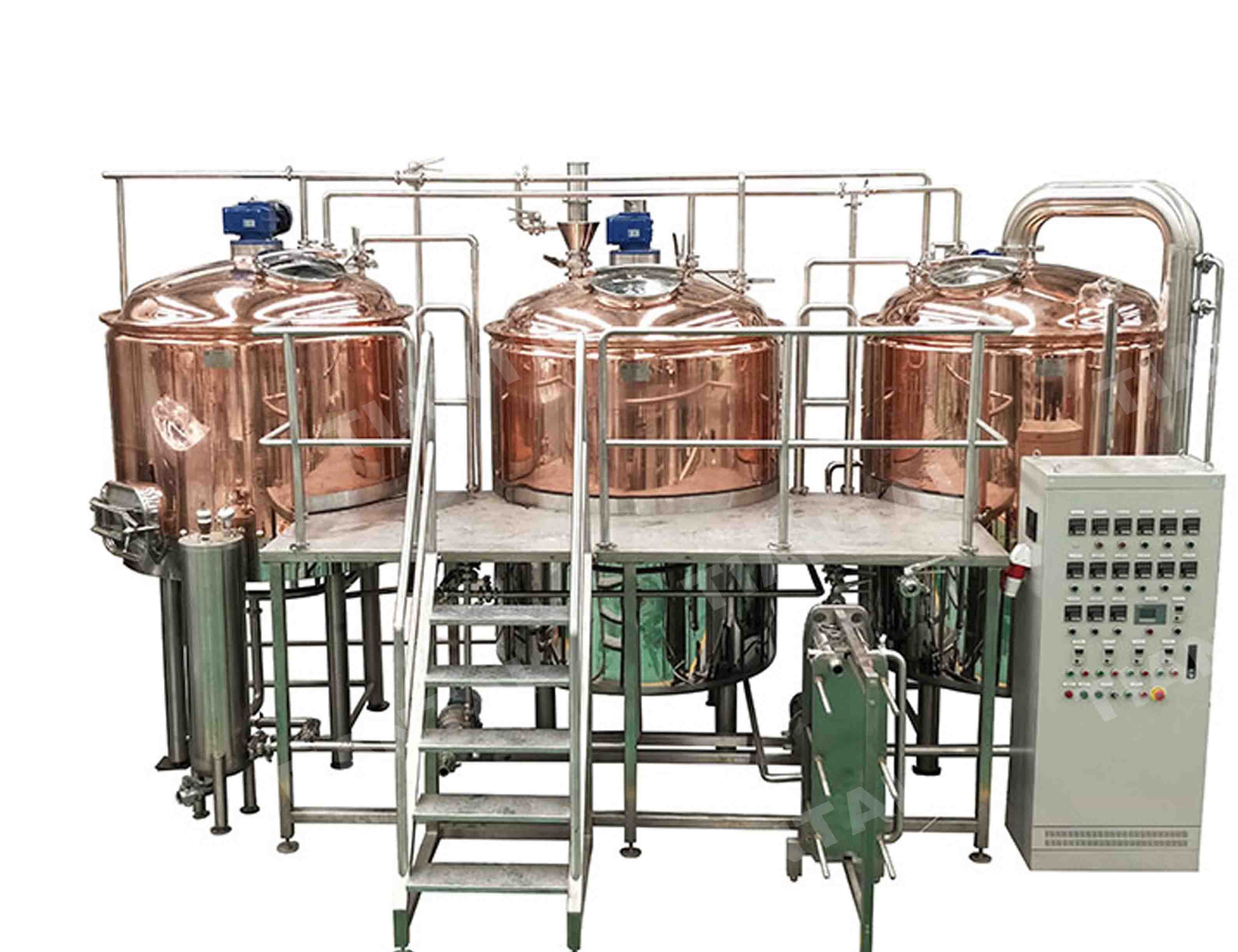 10HL coppeer brewery equipment for sale