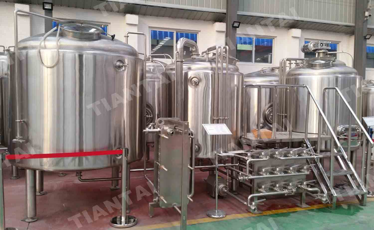 <b>10 bbl Two Vessel Brewhouse Equipment</b>