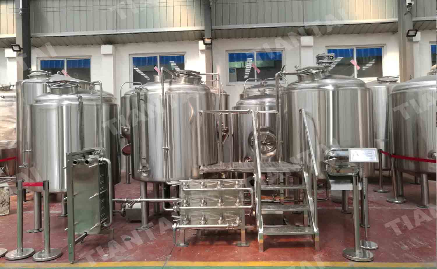 12 HL Three Vessel Brewhouse Equipment