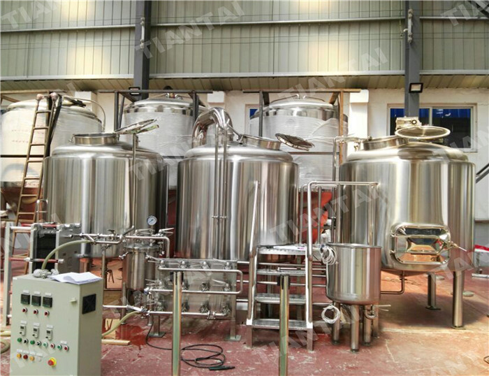 <b>15 hl Restaurant Beer Brewing Equipment</b>