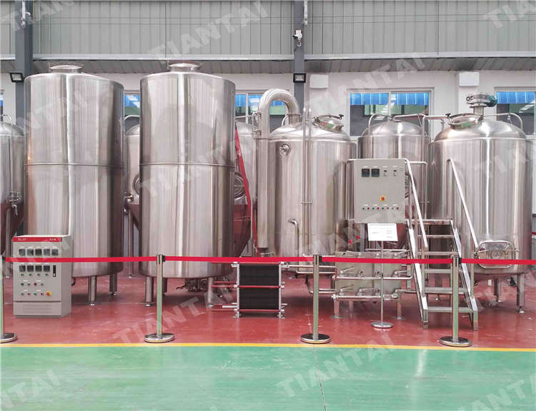 15HL Restaurant beer brewing equipment