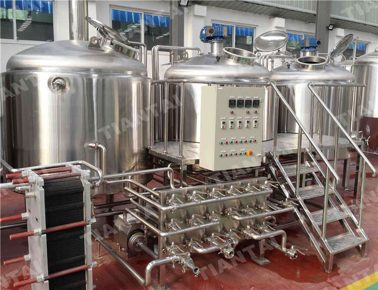 <b>18 hl Restaurant Beer Brewing Equipment</b>