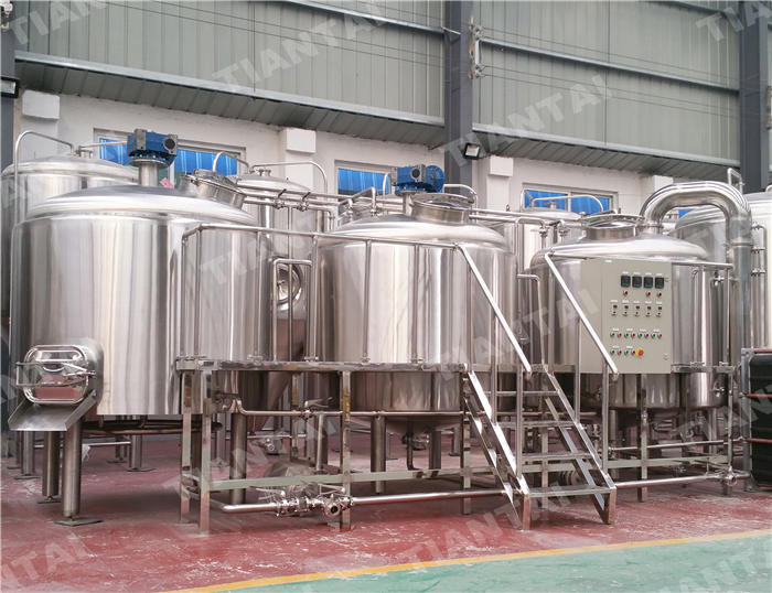 <b>20 HL Four Vessel Brewhouse Equipment</b>