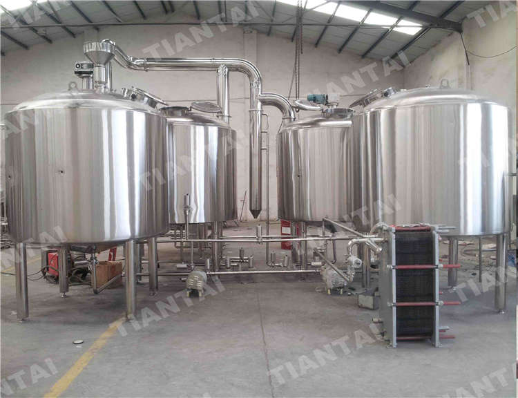 <b>30 HL Four Vessel Brewhouse Equipment</b>
