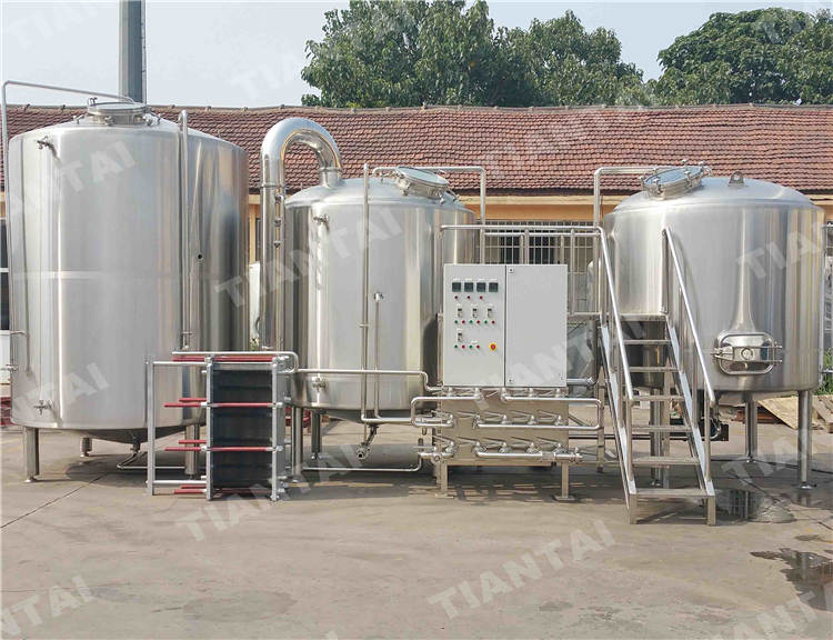 <b>35 HL Stainless steel brewhouse</b>