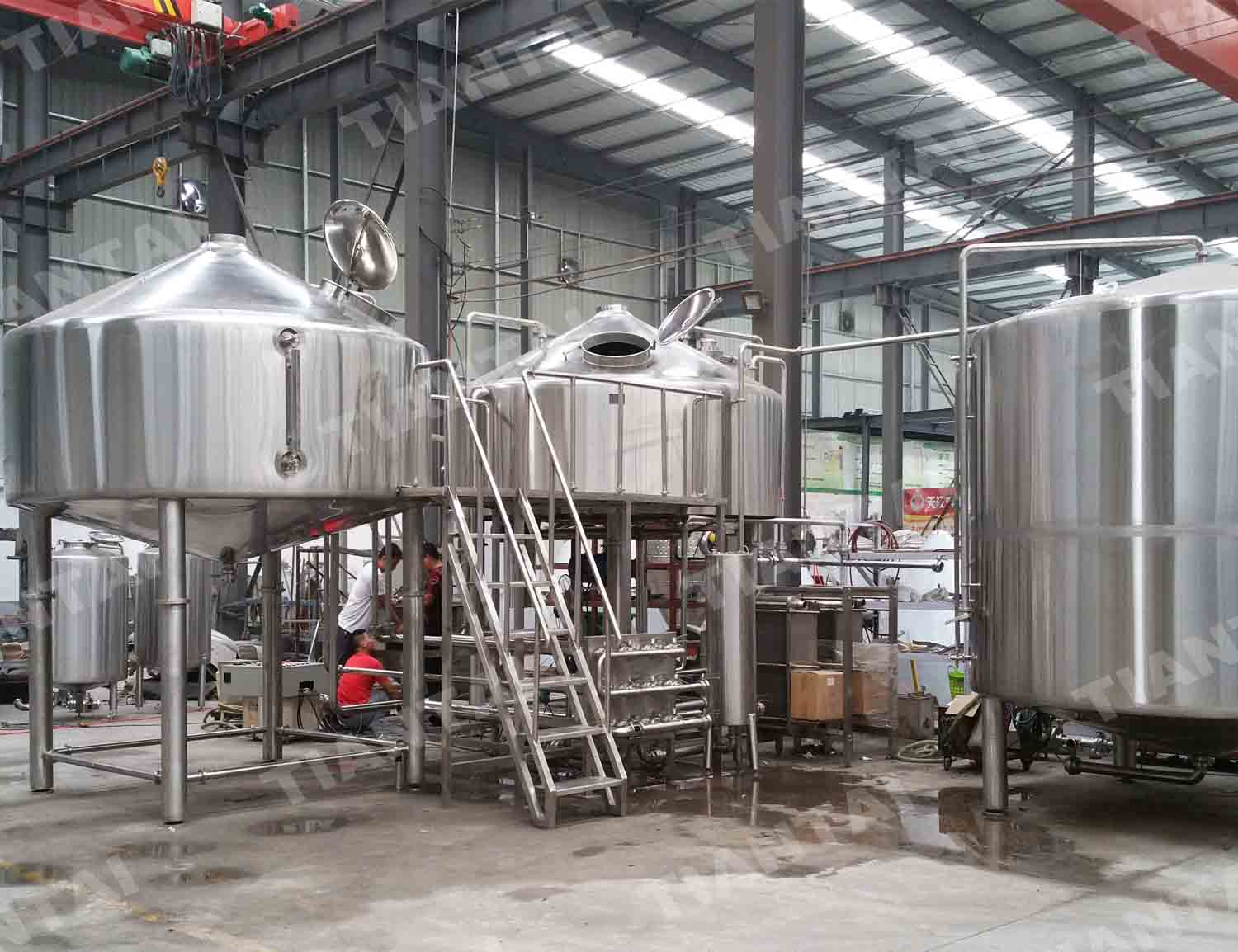 <b>50 HL Stainless steel brewhouse</b>