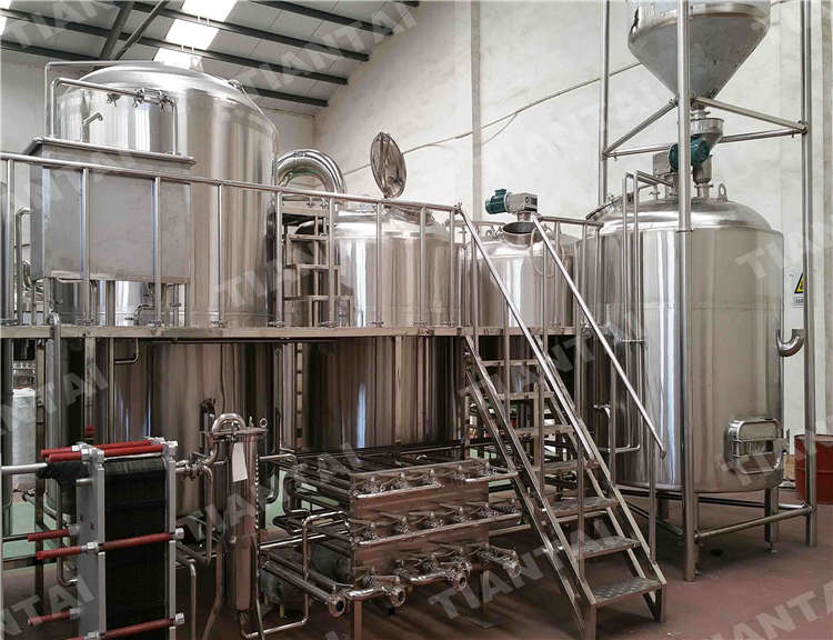 <b>40 HL Four Vessel Brewhouse Equipment</b>