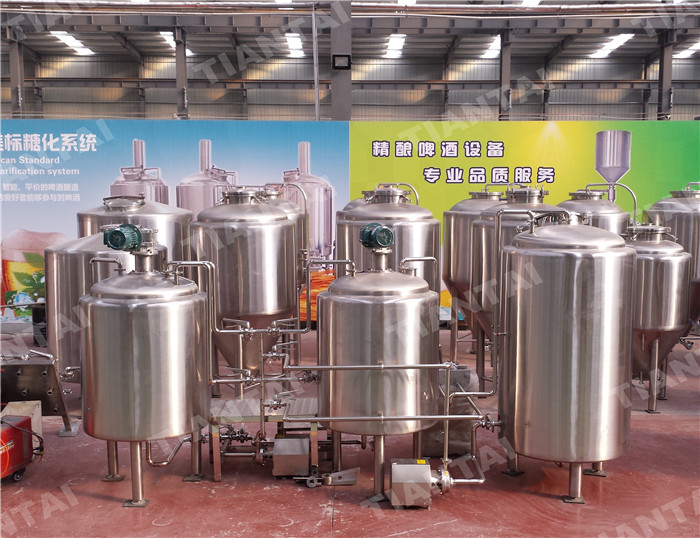 <b>3 HL Two Vessel Brewhouse Equipment</b>