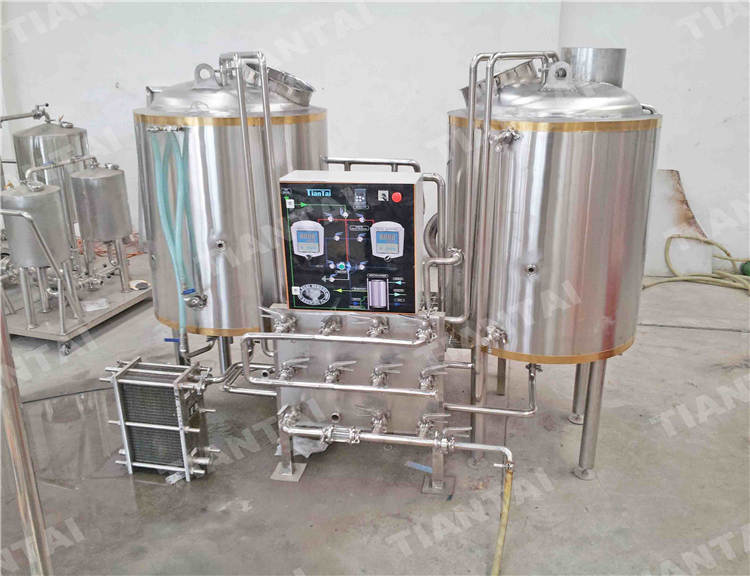 <b>3 bbl Two Vessel Brewhouse Equipment</b>