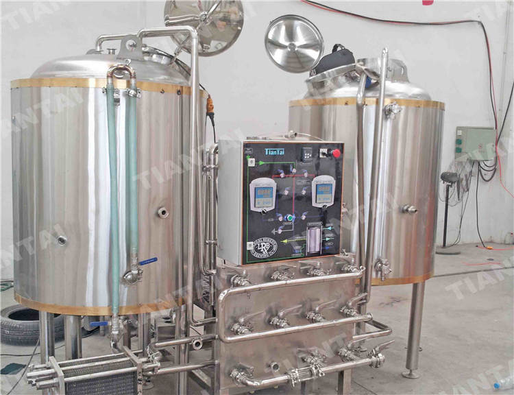 <b>2 bbl Two Vessel Brewhouse Equipment</b>
