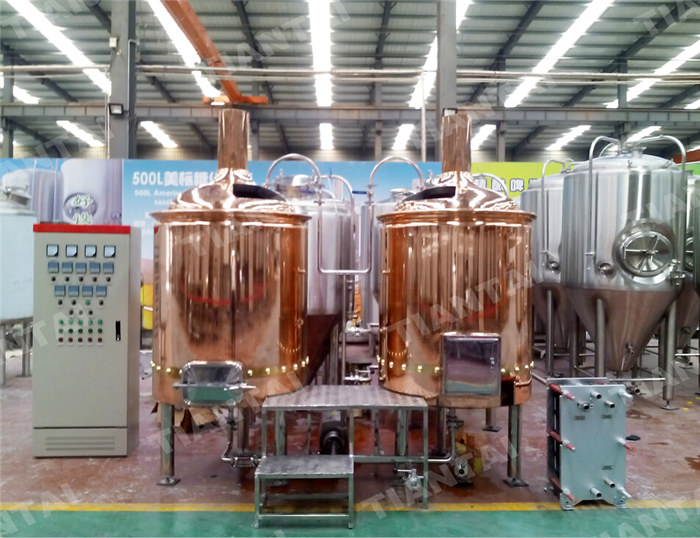 <b>5 HL Copper brewhouse</b>