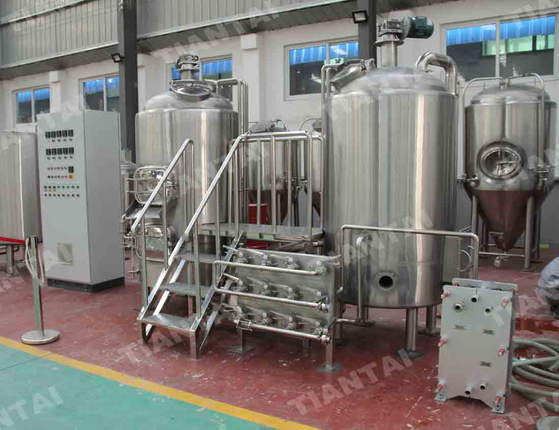 <b>500L two body-three vessel brewhouse equipment</b>