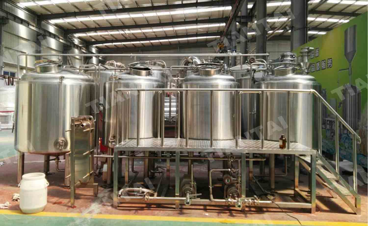 5 HL Restaurant Beer Brewing Equipment