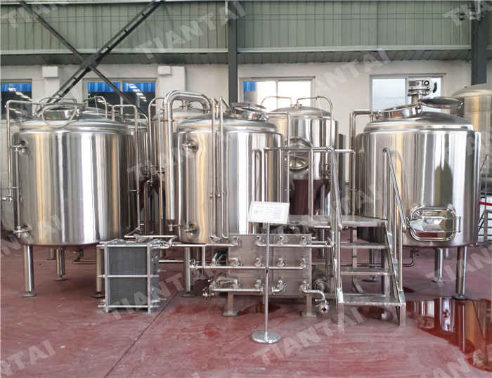 <b>1000L Stainless steel brewhouse</b>