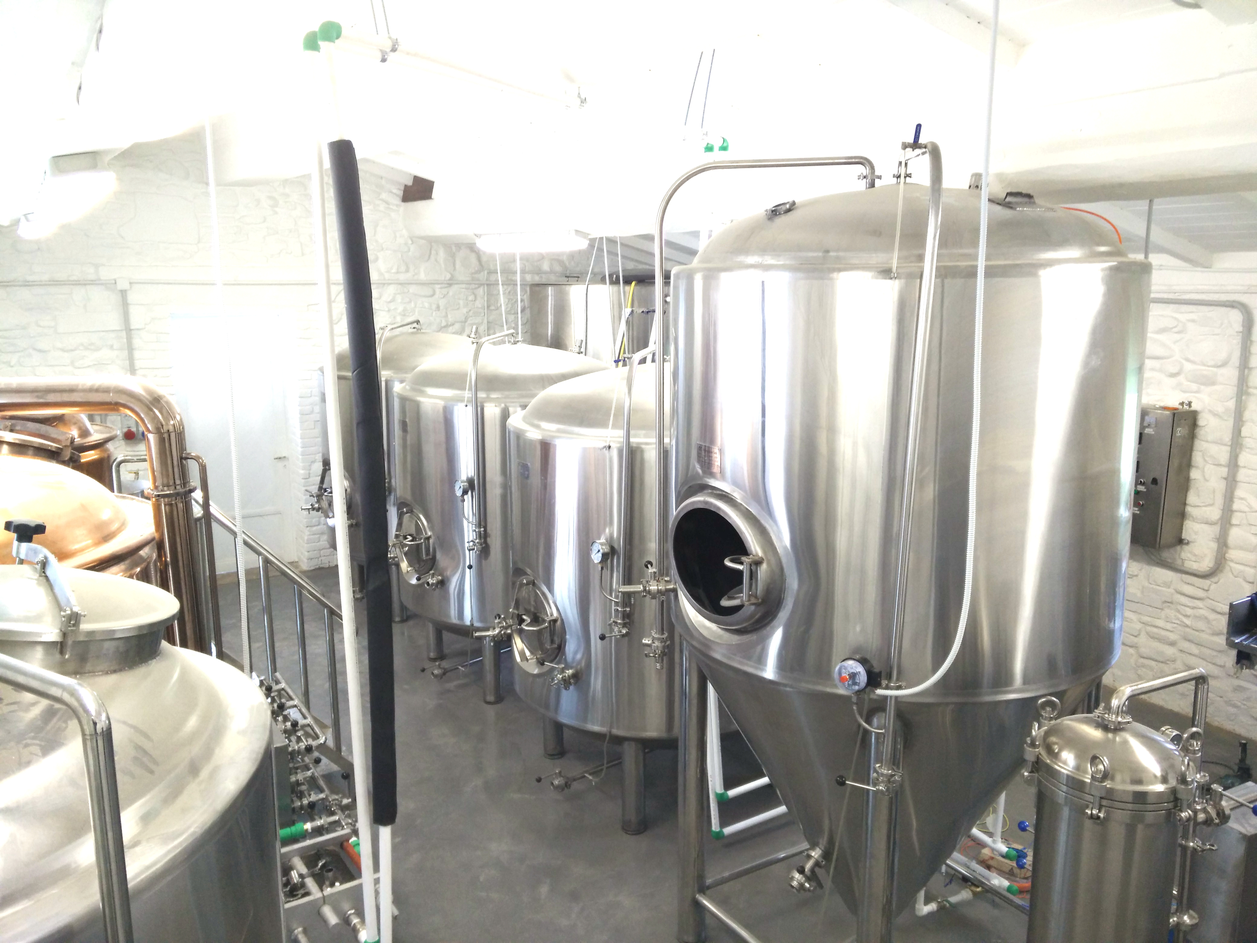 <b>20 HL Copper brewhouse</b>