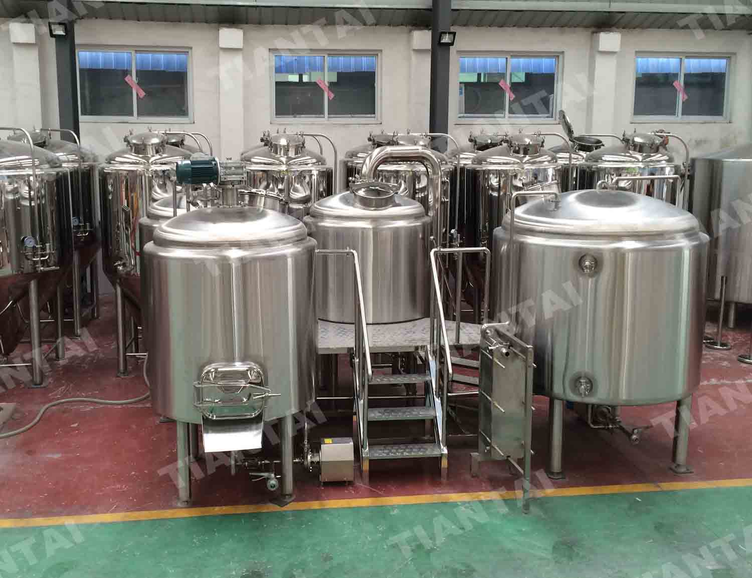 <b>1000L Two Vessel Brewhouse Equipment</b>