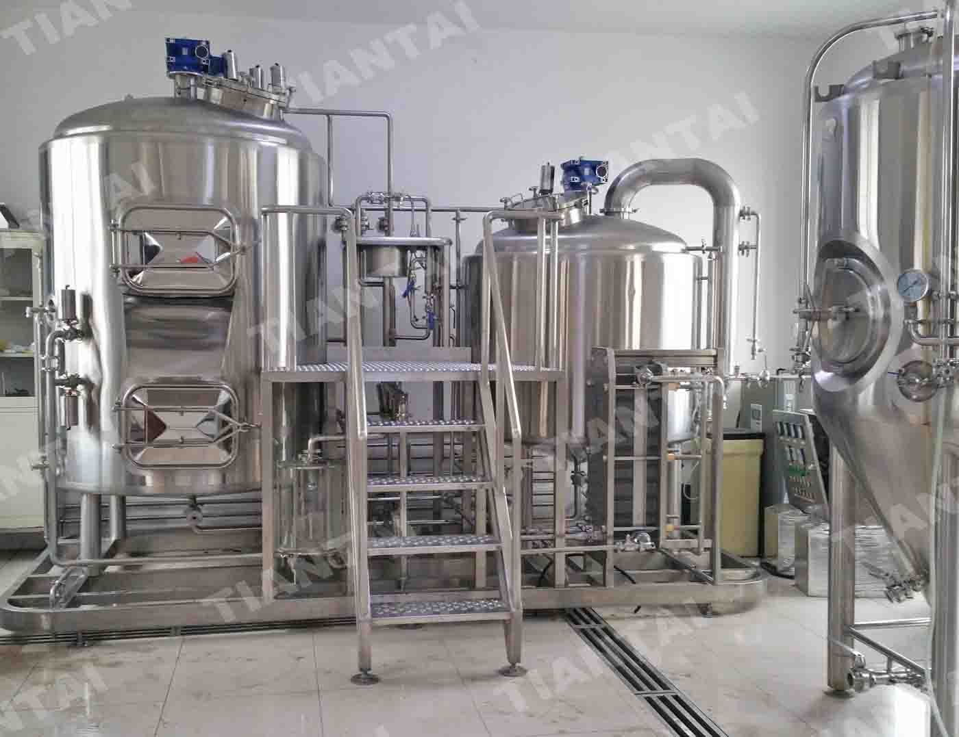 <b>10 hl Restaurant Beer Brewing Equipment</b>