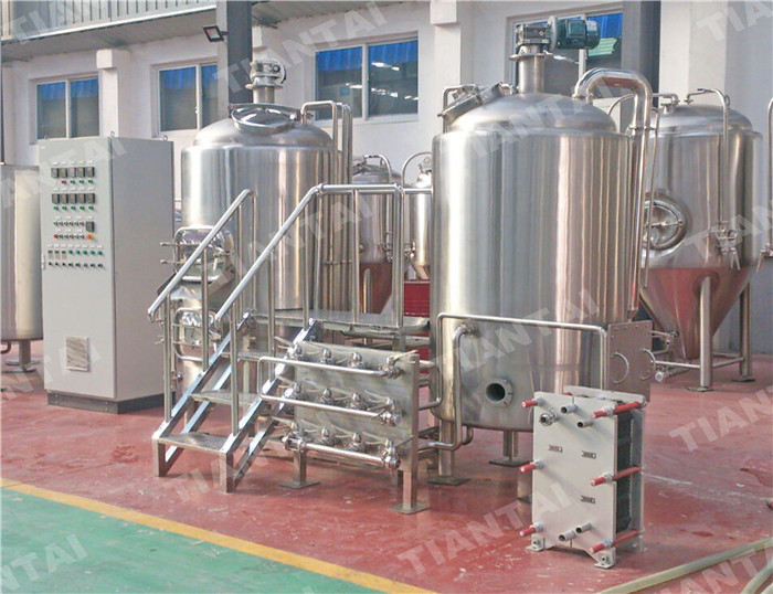 <b>500L Stainless steel brewhouse</b>