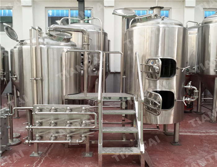 <b>600L two body-three vessel brewhouse equipment</b>