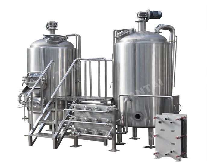 800L two vessel brewhouse equipment