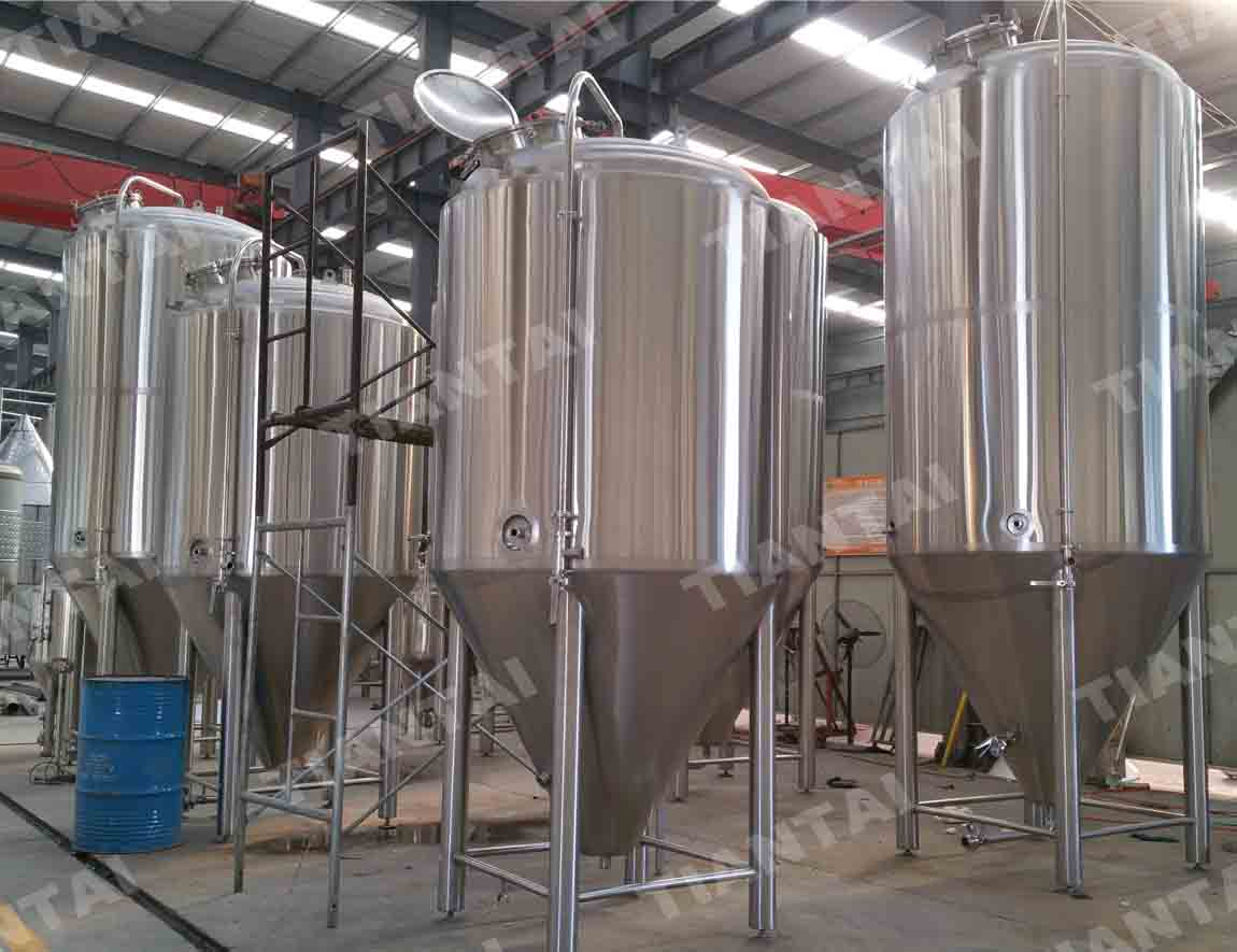 40bbl Jacketed conical fermenter