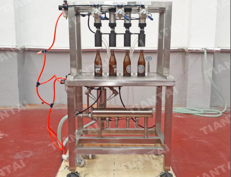 4-Station Manual Bottling Machine