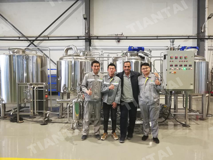 <b>First brewery project in Egypt is put to use</b>