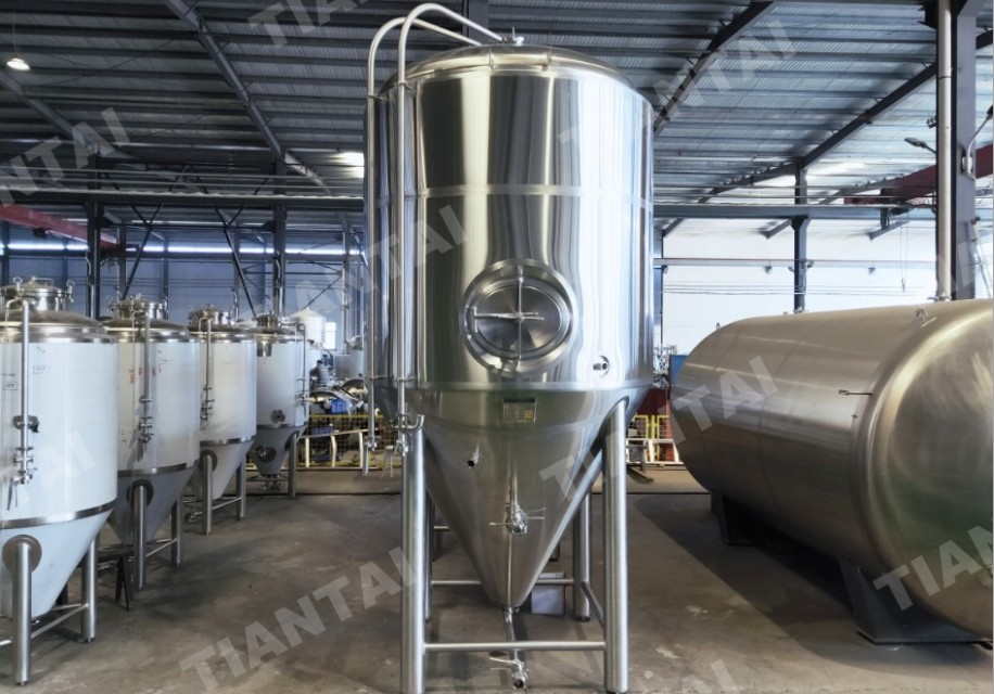 <b>30 BBL Jacketed Conical Fermenter Being Shipped to Canada</b>