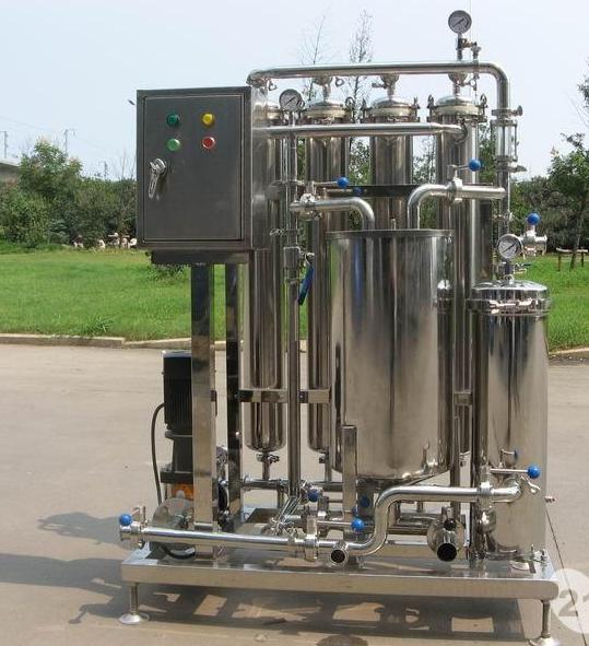 <b>Options of beer filter in microbrewery</b>