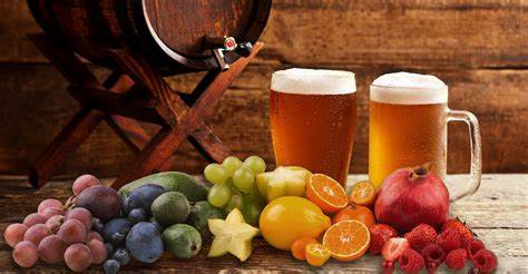 <b>Fruit beer brewing process</b>