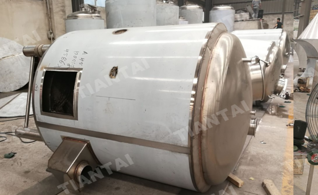 Gas Fired 1000L Micro Brewery Under Production