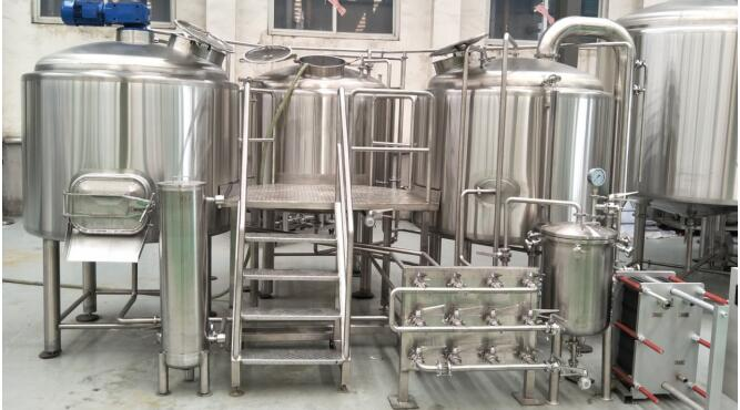 1000L Beer Brewery System Start Brewing Beer in Sweden