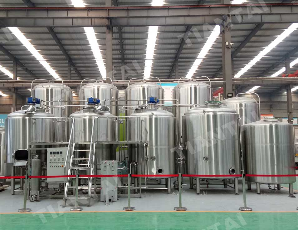 <b>Suitable brewhouse size to brew both normal and high gravity beer</b>