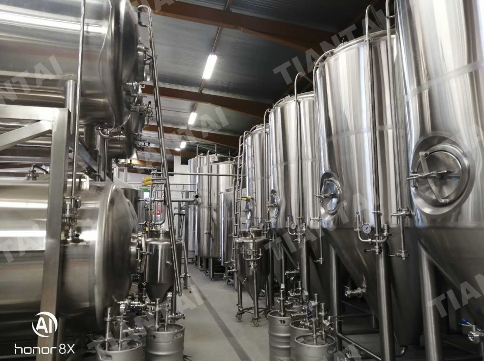 <b>40 HL Beer Brewing System Finished Installation In France</b>