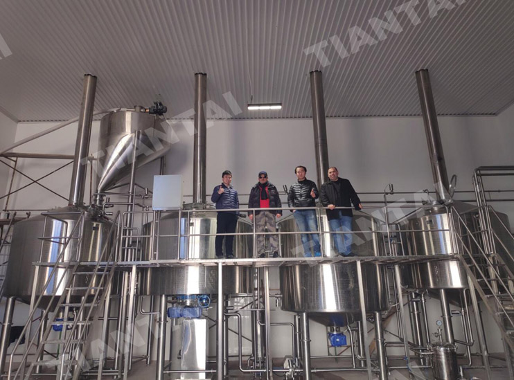 50HL commercial brewing equipment