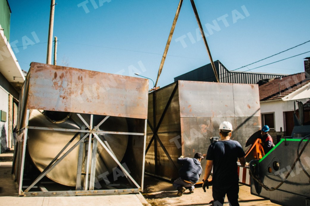 6000L Commercial Beer Brewery Arrived in Argentina