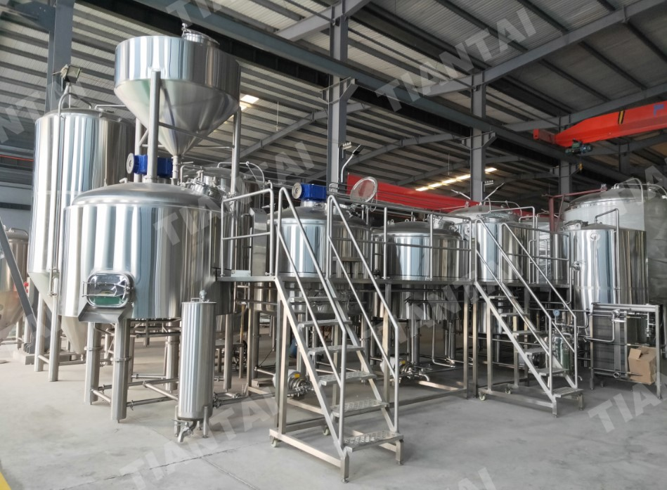 <b>2500L Craft Beer Equipment Shipping to Canada</b>