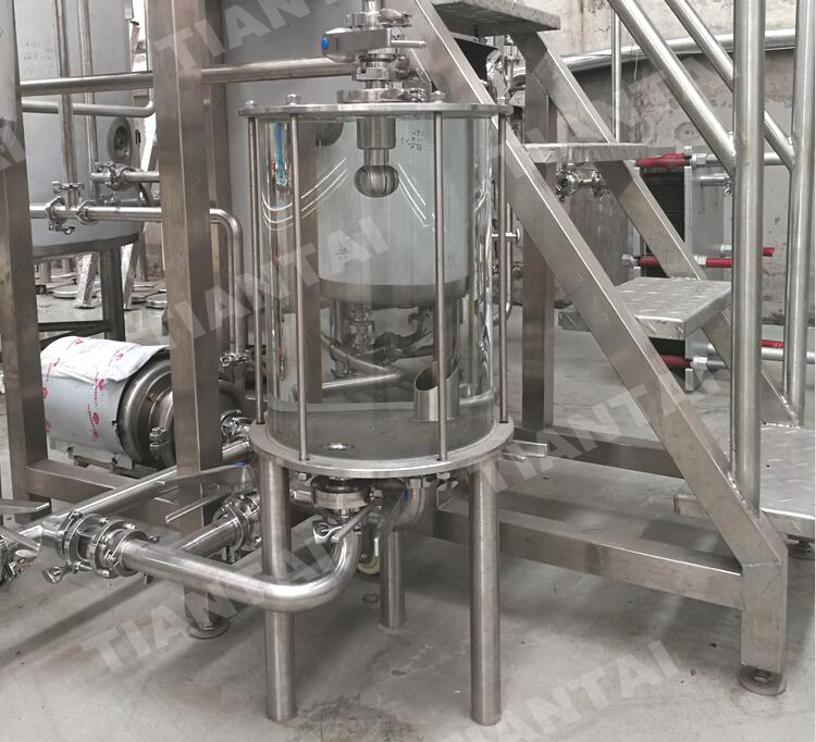 <b>Wort lauter grant operation tips for micro beer equipment II</b>