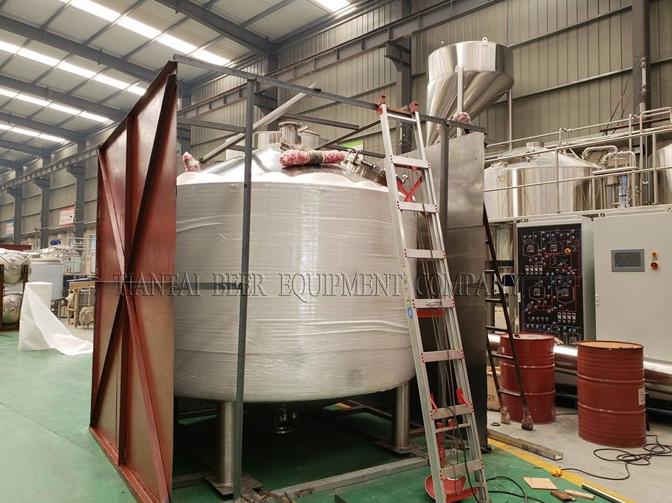 4000L Microbrewery Equipment Shipping to Korea / Blog