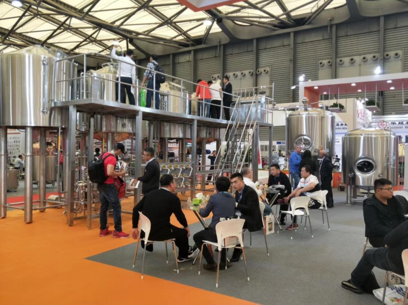 Shandong TIANTAI Beer Equipment on China Brew & Beverage Fair